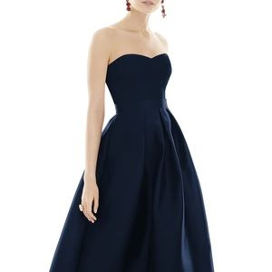 Alfred Sung Midnight Blue Gown